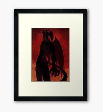 Devilman Crybaby Framed Print