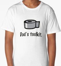 DAD'S TOOLKIT- DIY disaster Dad Long T-Shirt