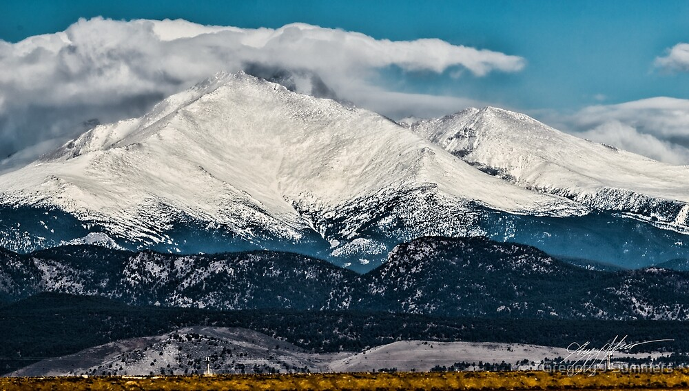 Meeker and Longs Majesty by Gregory J Summers