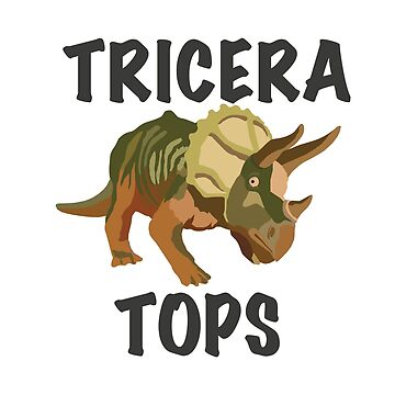 Triceratops with Text by feegee1