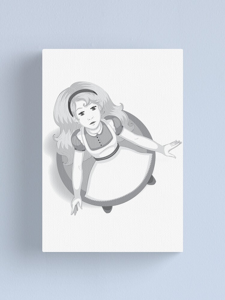 Alternate view of Alice After the Fall Canvas Print