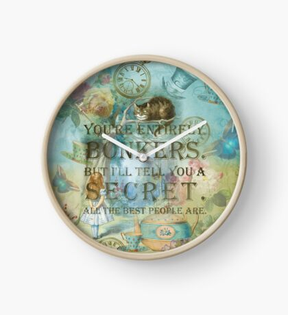 Wonderland - Bonkers Quote Reloj