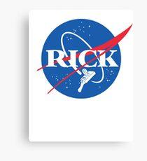 NASA RICK Canvas Print