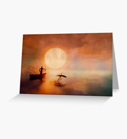 In Quiet Light Greeting Card