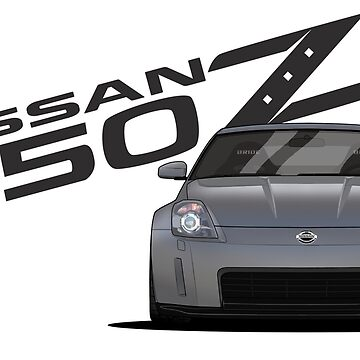 Nissan 350Z // Front by PixelRandom