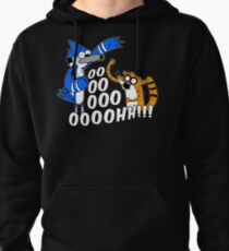 Rigby and Mordecai Pullover Hoodie