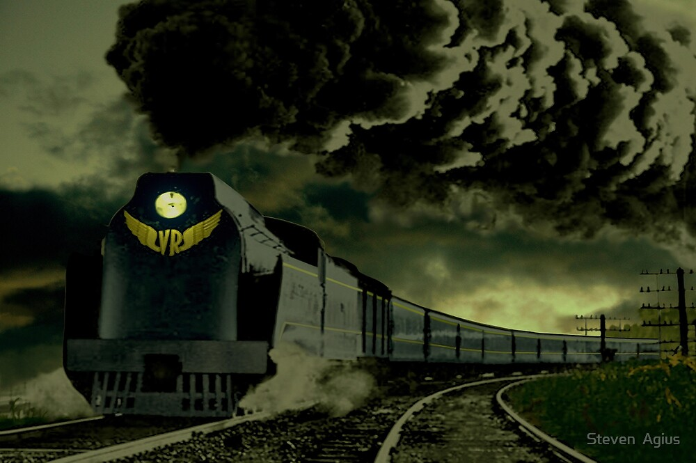 Age of Steam by Steven  Agius
