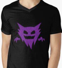 Pokemon - GHOST Type - Purple Men's V-Neck T-Shirt
