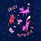 Space Travellers by Susann Hoffmann