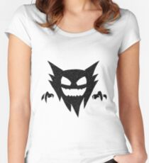 Pokemon - GHOST Type - Black Women's Fitted Scoop T-Shirt