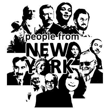 People from New York by DrFrankenbaum