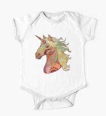 the unicorn Baby Body Kurzarm