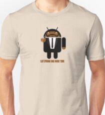 Pulp Fiction BugDroid Unisex T-Shirt