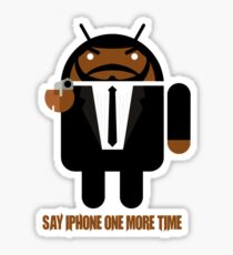 Pulp Fiction BugDroid Sticker