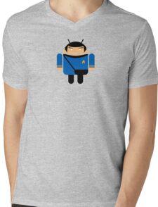 Dr. Spock BugDroid Mens V-Neck T-Shirt