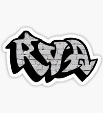 RVA Logo - Graffiti on White Wall Sticker