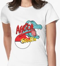 Africa by Totodile - Pokemon Women's Fitted T-Shirt