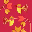 Hummingbirds by Scott Partridge