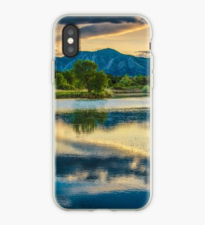 Sawhill Ponds Sunset iPhone Case