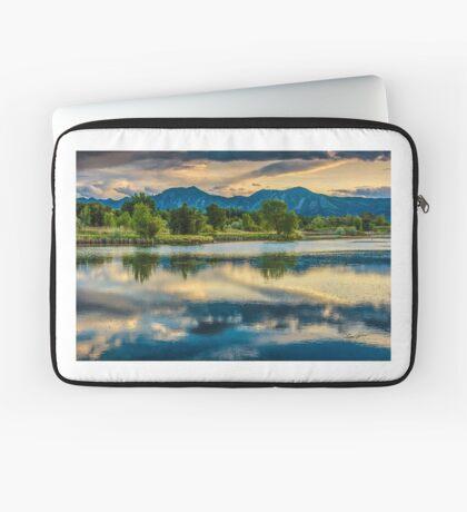 Sawhill Ponds Sunset Laptop Sleeve