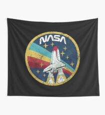 Nasa Vintage Colors V01 Wall Tapestry