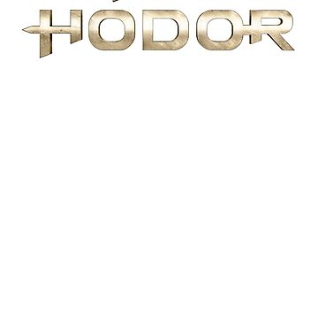 Fight for Hodor's Honor by artsandherbs