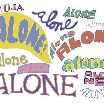 Spongebob Alone by ShayMcG