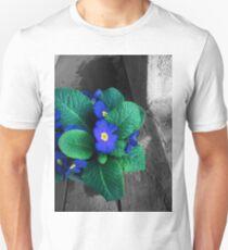indigo primroses 03/09/18 Slim Fit T-Shirt