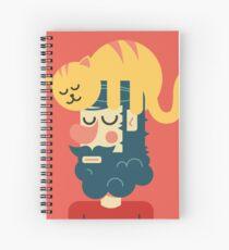 Cats send Spiral Notebook