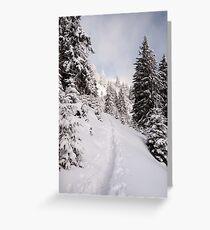Trail Greeting Card