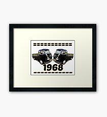 1968 volkswagen Framed Print