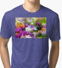 Crocuses glass Tri-blend T-Shirt