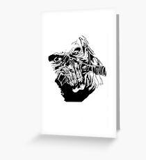 Masked Madness Greeting Card