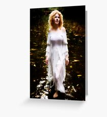 The Swan Maiden Greeting Card