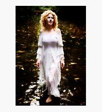 The Swan Maiden Photographic Print