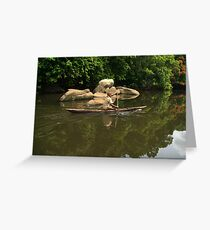 Lobé River Explorer Greeting Card