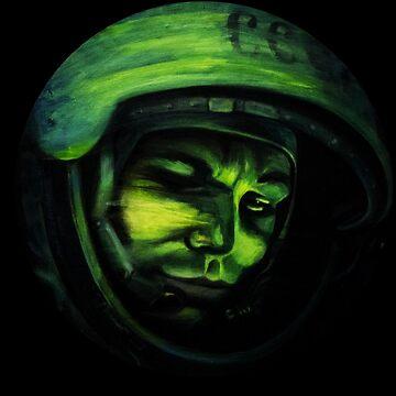 Yuri Gagarin (Nadya Polevich) by futbolko