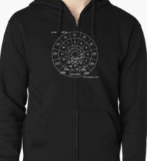 Circle of Fifths Zipped Hoodie