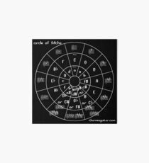 Circle of Fifths Art Board