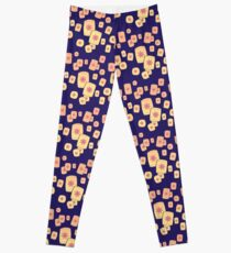 Floating Lanterns Gleam Leggings