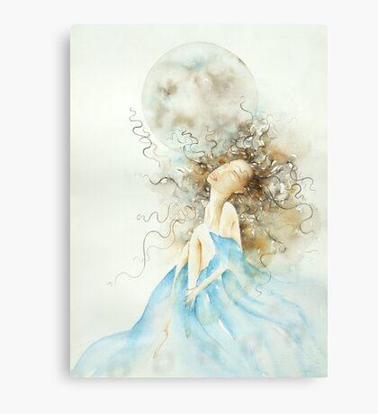 luna piena, sogni d'oro © 2009 patricia vannucci  Canvas Print