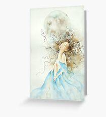 luna piena, sogni d'oro © 2009 patricia vannucci  Greeting Card