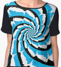 Psychedelic Fractal Chiffon Top