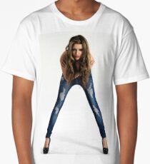 Fashion Jeans Long T-Shirt