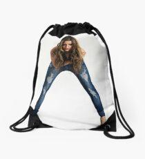 Fashion Jeans Drawstring Bag