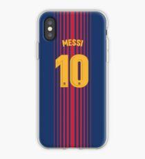Barcelona Home Shirt #10 Phone Case iPhone Case