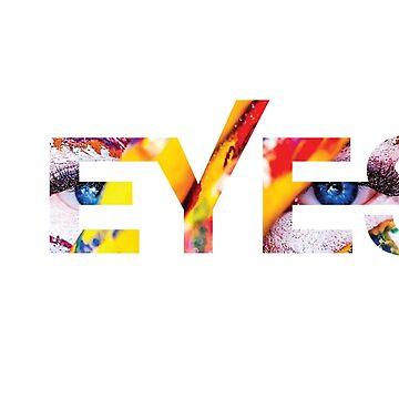 Tribal Eyes by zeke2usher