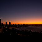 Pre-Dawn Perth Sky by Martin Pot
