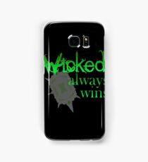 Once Upon A Time - Wicked Always Wins Samsung Galaxy Case/Skin