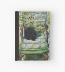 Natasha in the Chartreuse Chair Hardcover Journal